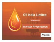 1 - Oil India Limited