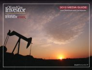 2012 MEDIA GUIDE - Oil and Gas Investor