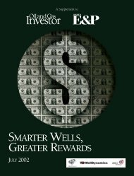 SMARTER WELLS, GREATER REWARDS - Oil and Gas Investor
