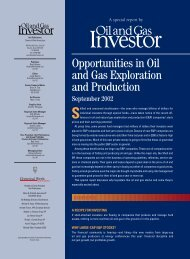 Opportunities in Oil and Gas Exploration and Production