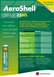 AeroShell Grease 33MS - Southern Lubricants