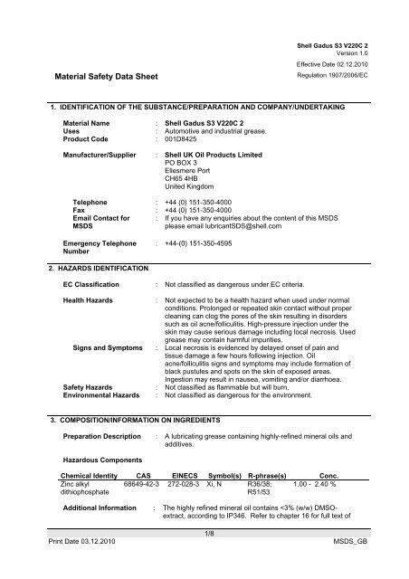 Gadus S3 V220C 2 pdf - OilsandStuff