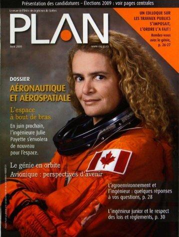 PLAN 2009-3 - Ordre des ingénieurs du Québec