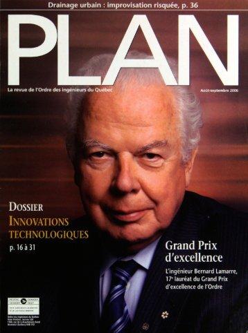 PLAn 2006-6 - Ordre des ingénieurs du Québec