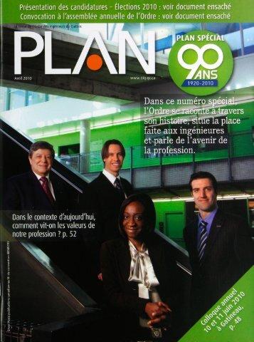 PLAN 2010-2 - Ordre des ingénieurs du Québec