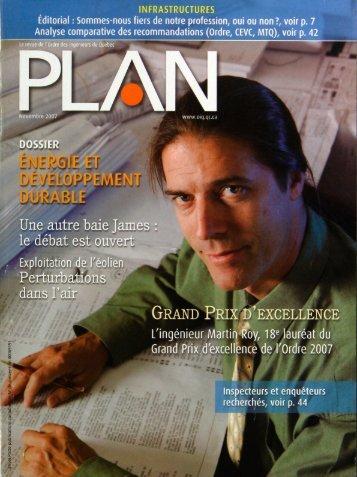 PLAN 2007-8 - Ordre des ingénieurs du Québec