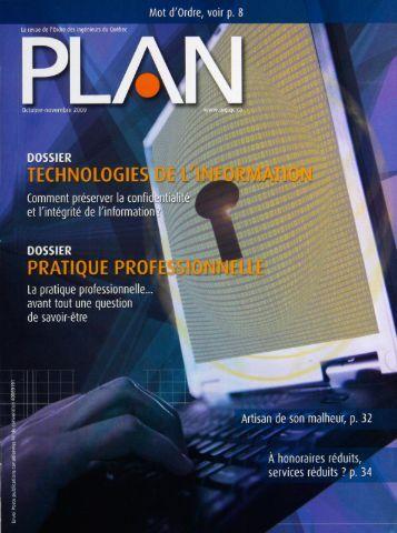 PLAN 2009-7 - Ordre des ingénieurs du Québec
