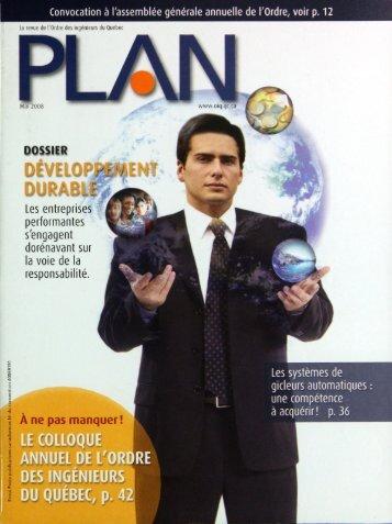 PLAN 2008-4 - Ordre des ingénieurs du Québec
