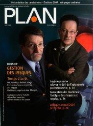 PLAN 2007-3 - Ordre des ingénieurs du Québec