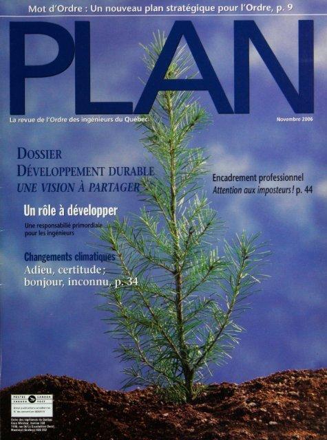 PLAn 2006-8 - Ordre des ingénieurs du Québec