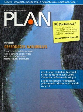 PLAN 2008-2 - Ordre des ingénieurs du Québec