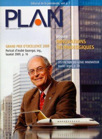 PLAN 2009-6 - Ordre des ingénieurs du Québec