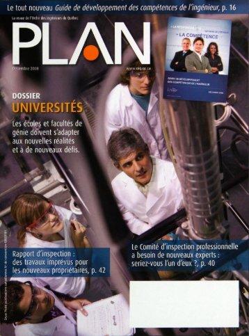 PLAN 2008-9 - Ordre des ingénieurs du Québec