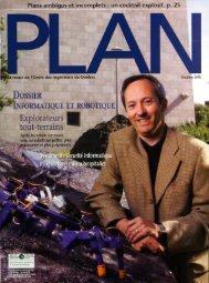 PLAN 2006-7 - Ordre des ingénieurs du Québec