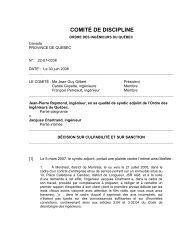 22-07-0338 - Ordre des ingénieurs du Québec