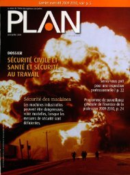 PLAN 2009-5 - Ordre des ingénieurs du Québec