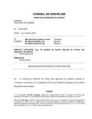 22-09-0381 - Ordre des ingénieurs du Québec
