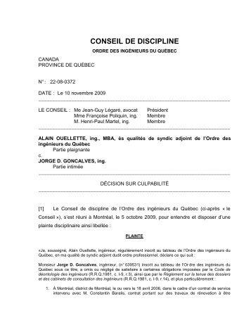 22-08-0372F - Ordre des ingénieurs du Québec