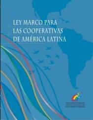 Ley Marco Para Las Cooperativas de América Latina, (pdf 1.64 MB)