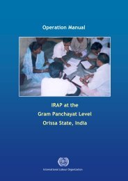 IRAP at the Gram Panchayat Level Orissa State, India Operation ...