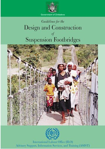 Guidelines on the Design and Construction of Suspension Footbridges