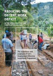 reducing the decent work deficit - International Labour Organization