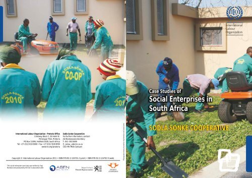 Case Studies of Social Enterprises in South Africa - International ...