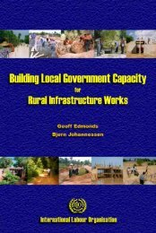 Building Local Government Capacity for Rural Infrastructure Works