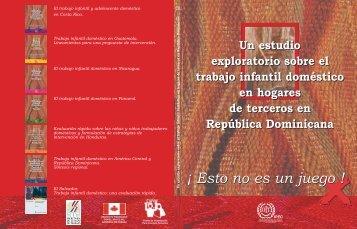 Esto no es un juego ! ! - OIT en América Latina y el Caribe
