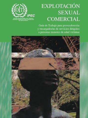 explotación sexual comercial - OIT en América Latina y el Caribe