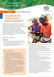 Cooperatives for People-Centred Rural Development - International ...