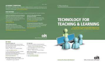 OIT Organization Chart (PDF) - Office of Information Technology