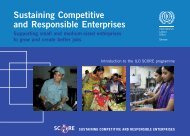 Sustaining Competitive and Responsible Enterprises - OIT/Cinterfor