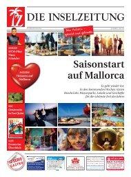 Saisonstart auf Mallorca - Die Inselzeitung Mallorca Mai 2014