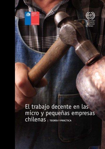 El trabajo decente en las micro y pequeñas empresas chilenas ...