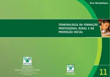 SENAR • Serviço Nacional de Aprendizagem Rural - OIT/Cinterfor