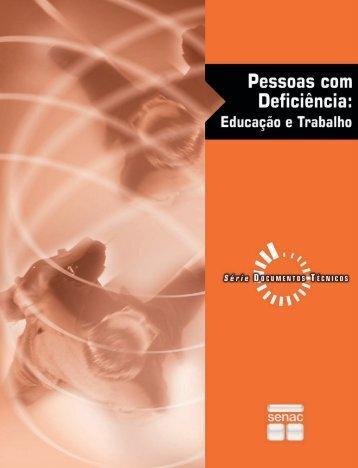 Pessoas com deficiência : educação e trabalho - OIT/Cinterfor