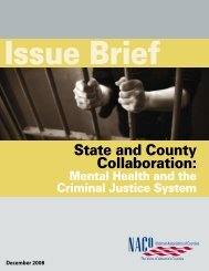 State and County Collaboration: - Office of Justice Programs ...