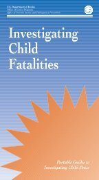 Investigating Child Fatalities - National Criminal Justice Reference ...