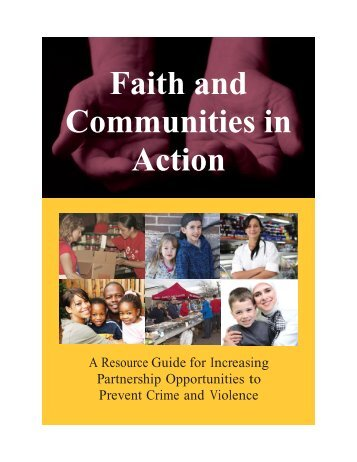 Faith and Communities in Action - Office of Justice Programs ...