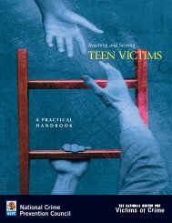 A Practical Handbook: Reaching and Serving Teen Victims