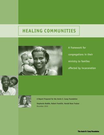 Healing Communities: A Framework For Congregations in Their ...
