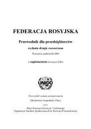 Przewodnik dla Przedsiębiorcy ROSJA 2006
