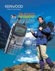 th-d7a(g) data communicator - Ok1mjo.com