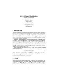 Digital Phase Modulation: - Ok1mjo.com
