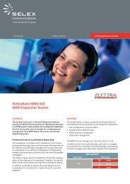 ElettraSuite WDS-310 WAN Dispatcher Station - Ok1mjo.com