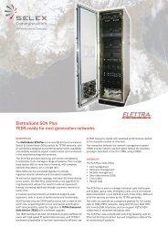 ElettraSuite SCN Plus TEDS ready for next generation ... - Ok1mjo.com