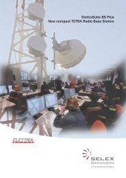 ElettraSuite BS Plus New compact TETRA Radio ... - Ok1mjo.com