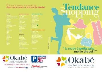 la mode à petits prix, moi je dis oui - OKABE - Centre commercial au ...