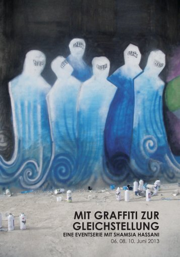 MIT GRAFFITI ZUR GLEICHSTELLUNG - SP Frauen